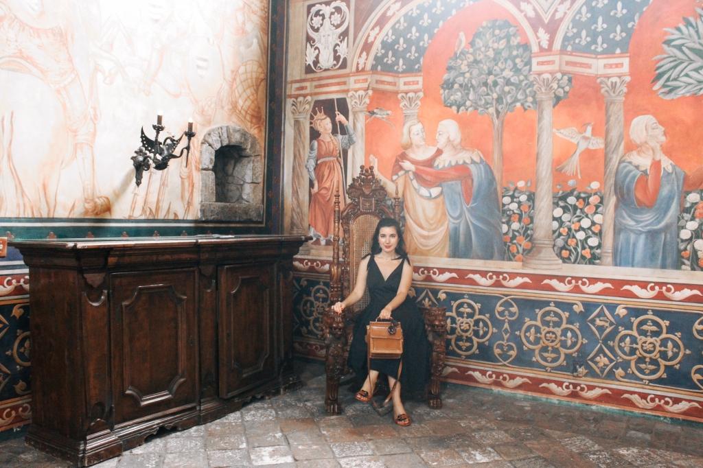 Castello di Amorosa, Napa Valley, wine tasting, Medieval, The Middle Ages, interior design