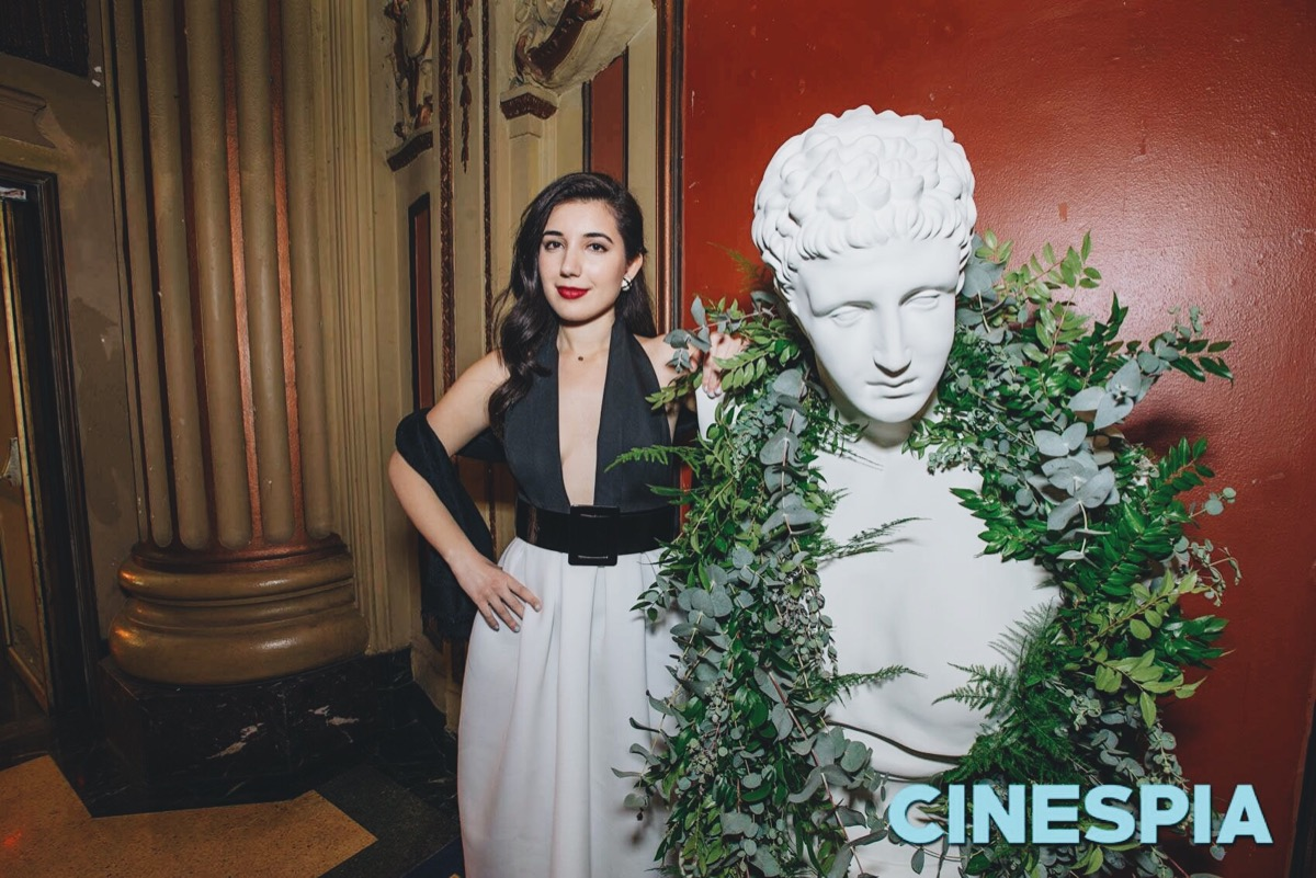 Los Angeles Theatre, Old Hollywood, glamour, ASOS, retro dress, retro earrings, black and white dress, Burberry, Burberry purse, curly hair, red lips, Downtown Los Angeles, historic Los Angeles, LA style, Roman Holiday, Audrey Hepburn, clutch, strapped heel, shawl, Louis Vuitton, halter dress