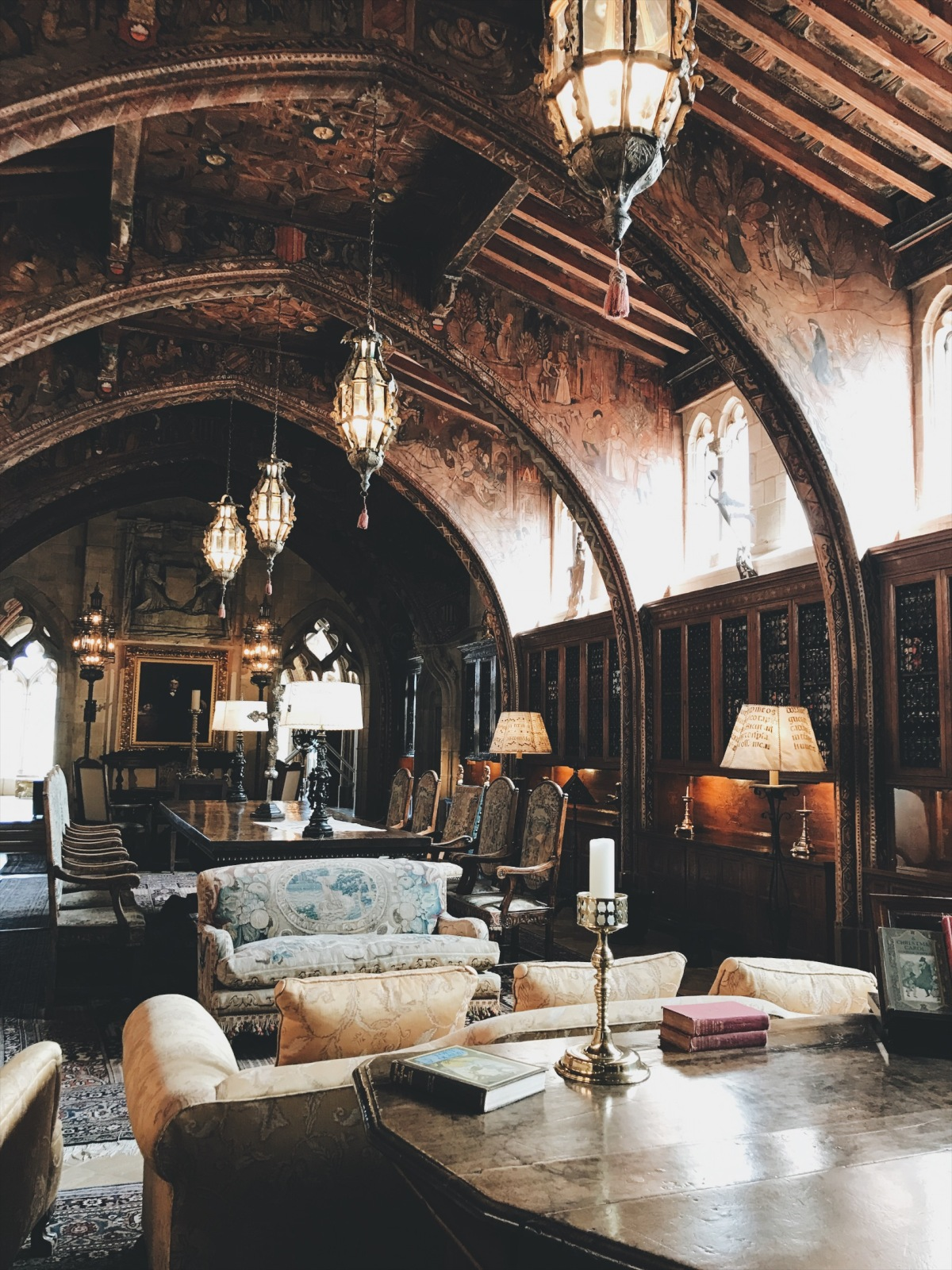 Hearst Castle, California Travel, castle, nineteenth century, lookbook, fashion blogger, fashion, style, style blogger, travel, travel blogger, black dress, white turtleneck, Kate Spade, loafers, European architecture, outfit of the day, ootd, look of the day, Greek architecture, history, 19th Century art