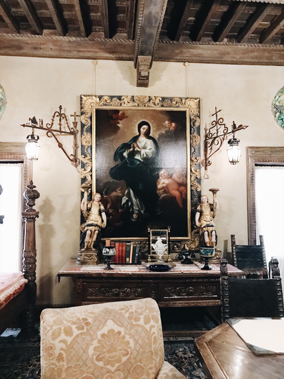 Hearst Castle Bedroom