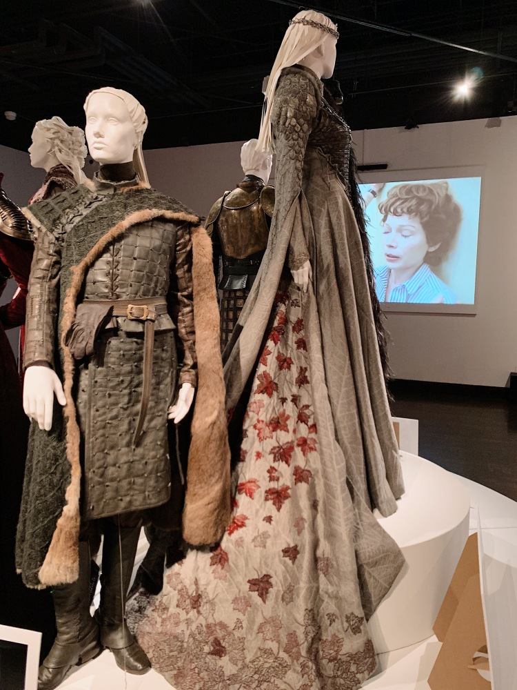 FIDM Art of Television Costume Design Exhibition, Michele Clapton, Outstanding Fantasy/Sci-Fi Costumes, Fantasy Costumes, couture, fashion blog, Emmys, Emmy-winning Costumes, Game of Thrones, Game of Thrones Season 8, Sansa Stark