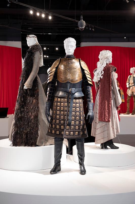 FIDM Art of Television Costume Design Exhibition, Michele Clapton, Outstanding Fantasy/Sci-Fi Costumes, Fantasy Costumes, couture, fashion blog, Emmys, Emmy-winning Costumes, Game of Thrones, Game of Thrones Season 8, Sansa Stark
