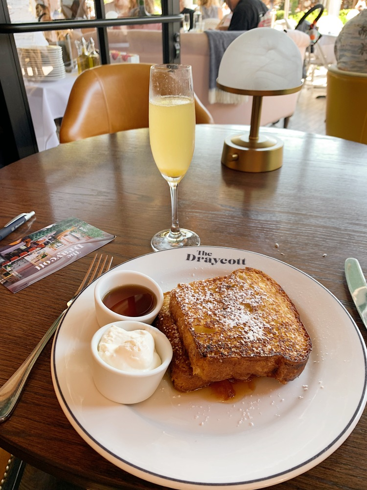 The Draycott, Palisades Village, Los Angeles restaurants, Sunday Brunch, Los Angeles brunch, West LA brunch, LA dining, food blogger