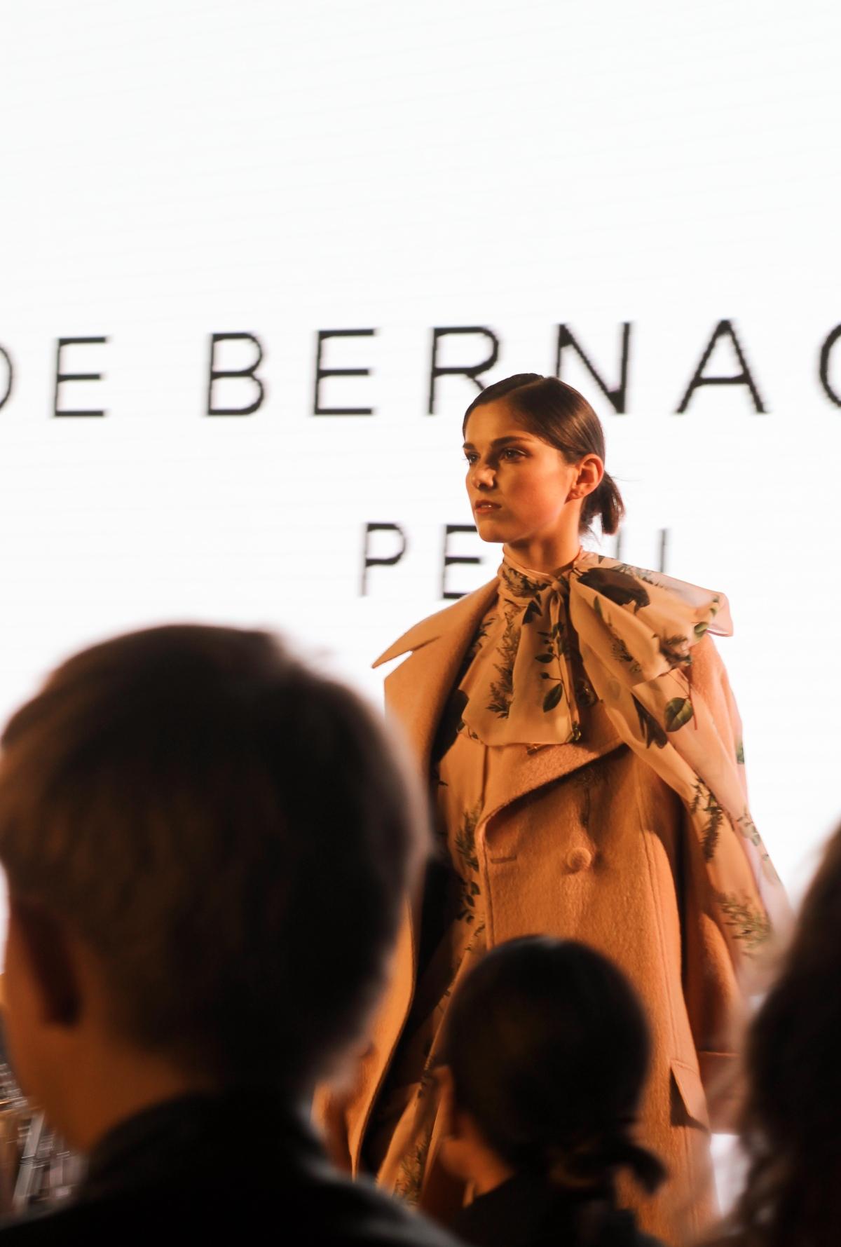 LA Fashion Week, Noe Bernacelli, fashion week, fashion month, SS20, haute couture, Peruvian fashion designer, fashion designer, alpaca fur coat, chiffon, beading, couture gowns, fashion blogger, LA fashion blogger, Petersen Automotive Museum