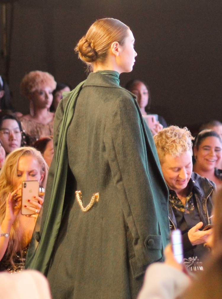 LA Fashion Week, Noe Bernacelli, fashion week, fashion month, SS20, haute couture, Peruvian fashion designer, fashion designer, alpaca fur coat, chiffon, beading, couture gowns, fashion blogger, LA fashion blogger, Petersen Automotive Museum