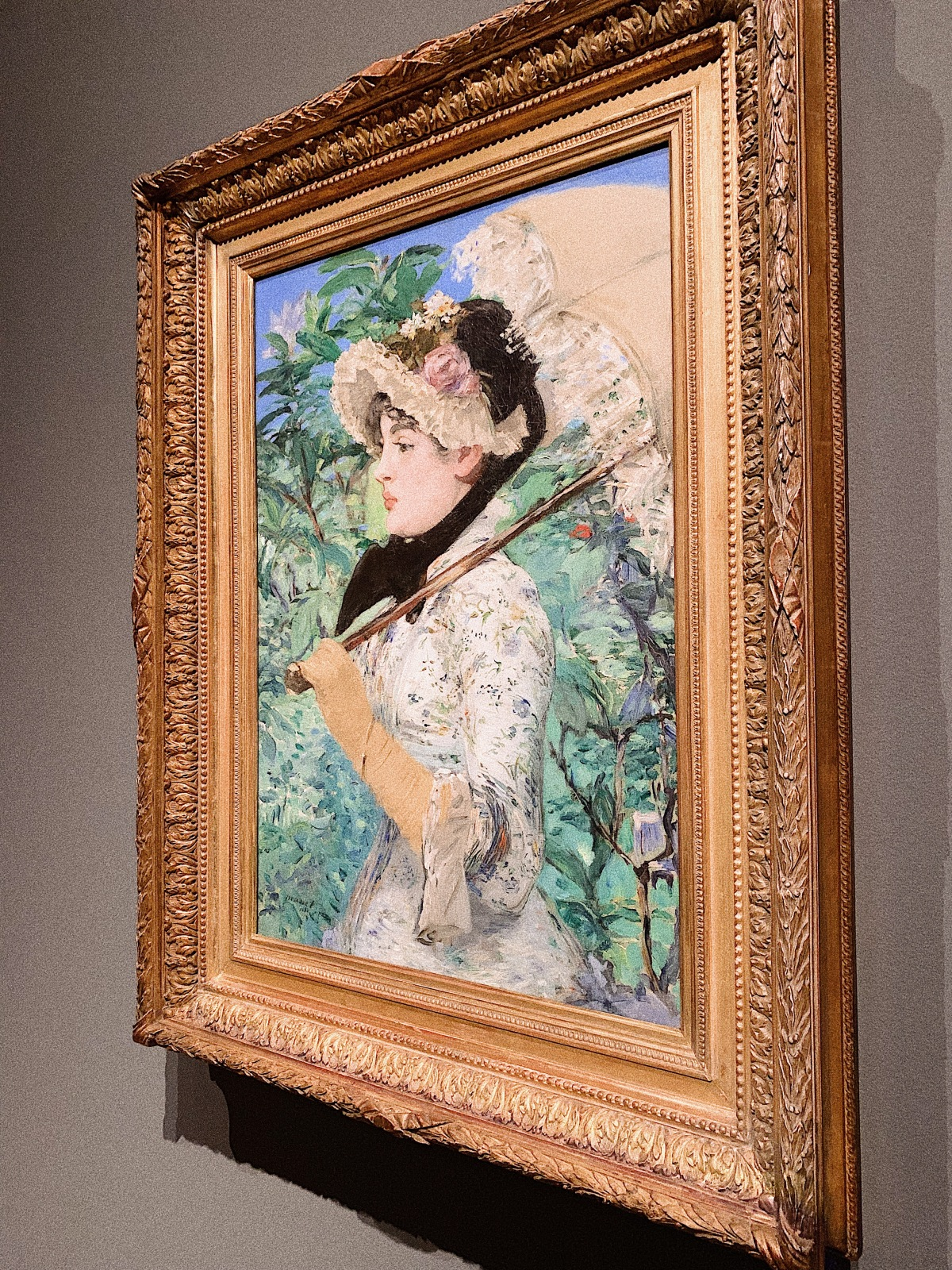Edouard Manet, Getty Museum, Manet, Manet and Modern Beauty, Art, Manet's Spring, french modernist painting