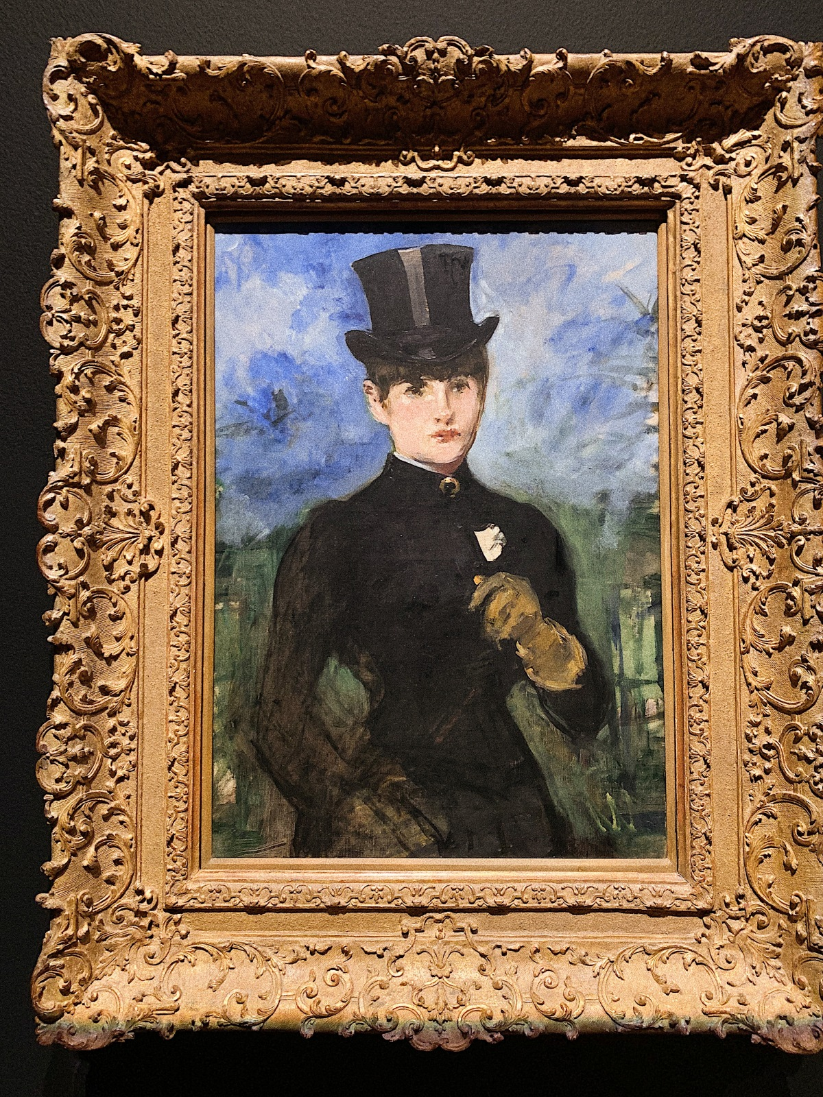 Edouard Manet, Getty Museum, Manet, Manet and Modern Beauty, Art, Manet's Young Woman in a Riding Costume, french modernist painting