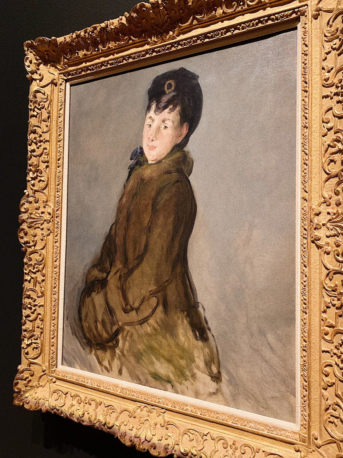 """Edouard Manet's """"Portrait of Isabelle Lemonnier"""", Eduord Manet, Getty Museum, Manet, Manet and Modern Beauty, Art, Manet's , french modernist painting"""