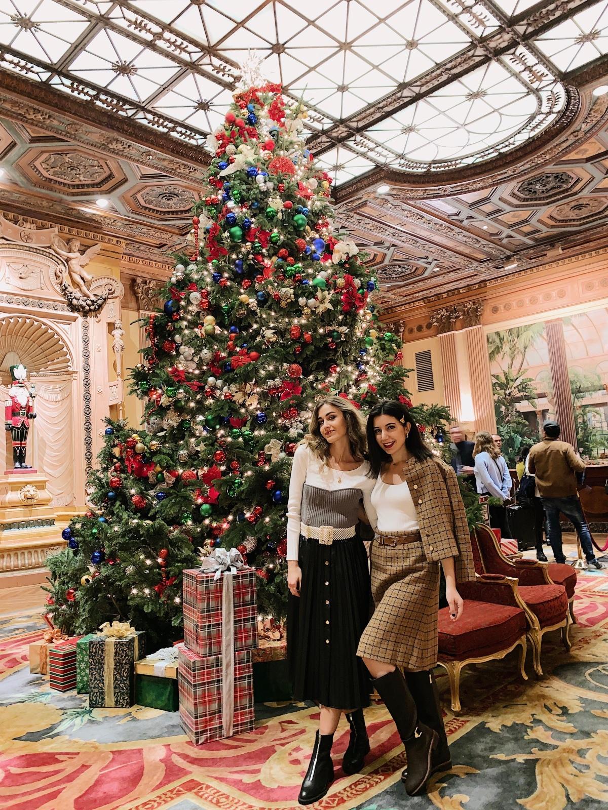 Millenium Biltmore, DTLA, Downtown Los Angeles, art deco, Christmas decor, historic, 1920s, roaring twenties, historic hotel