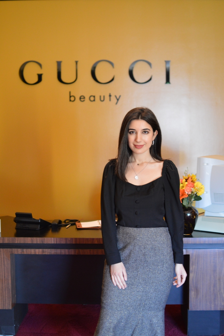 Gucci, Gucci Beauty, Mascara L'Obscur, pop up, Los Angeles fashion, fashion, LA pop up, Melrose, West Hollywood, beauty, mascara, makeup, Alessandro Michelle, fashion diary, fashion blogging, what I wore, ootd,